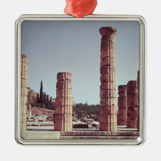 Ruins of the Temple of Apollo Christmas Ornament