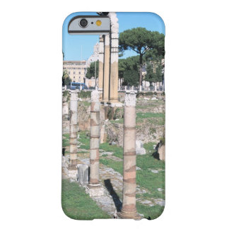 Ruins of the Temple of Castor and Pollux, Italy Barely There iPhone 6 Case