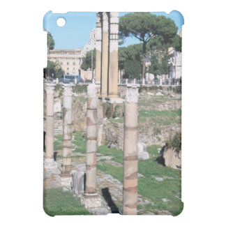 Ruins of the Temple of Castor and Pollux, Italy Cover For The iPad Mini