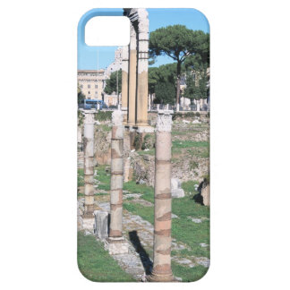 Ruins of the Temple of Castor and Pollux, Italy iPhone 5 Case
