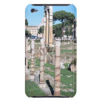 Ruins of the Temple of Castor and Pollux, Italy iPod Touch Cover