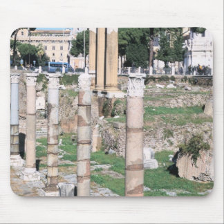 Ruins of the Temple of Castor and Pollux, Italy Mouse Mat