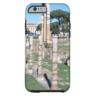 Ruins of the Temple of Castor and Pollux, Italy Tough iPhone 6 Case