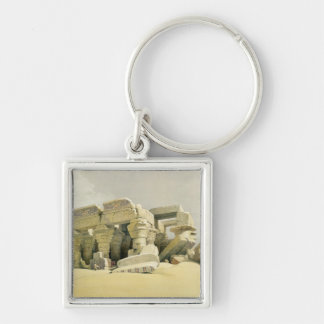 "Ruins of the Temple of Kom Ombo, from ""Egypt and N Key Chain"