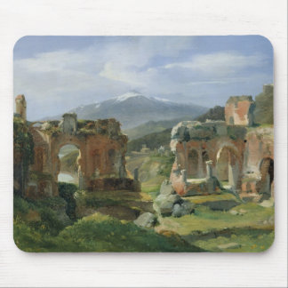 Ruins of the Theatre at Taormina Mouse Mat