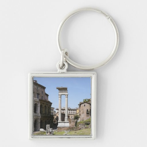Ruins of Theater of Marcellus Keychain