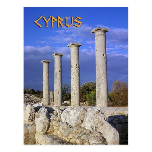 Ruins on Cyprus Post Card