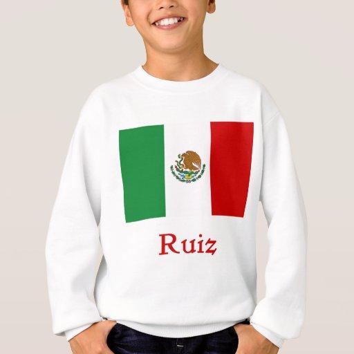 Ruiz Mexican Flag Sweatshirt