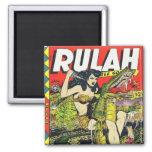 Rulah-Vintage Comic Book Magnet