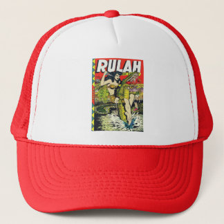 Rulah-Vintage Comic Book Trucker Hat