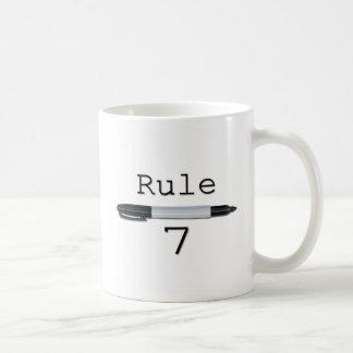 Rule 7 (Logo) Coffee Mug