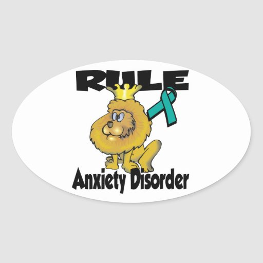 Rule Anxiety Disorder Stickers