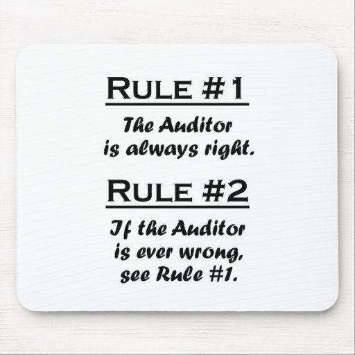 Rule Auditor Mouse Pad