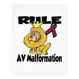 Rule AV Malformation Full Color Flyer