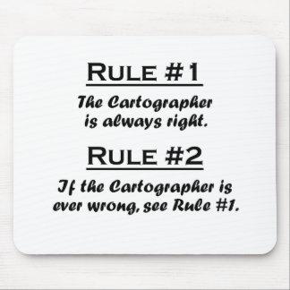 Rule Cartographer Mousepads