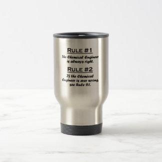 Rule Chemical Engineer Travel Mug