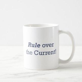 Rule / Current Basic White Mug