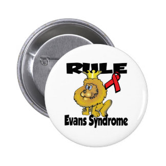 Rule Evans Syndrome Pinback Buttons