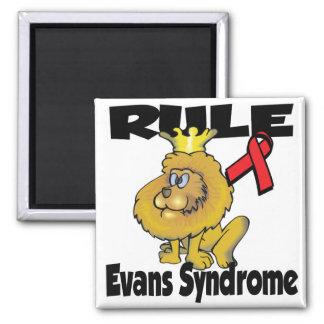 Rule Evans Syndrome Refrigerator Magnets