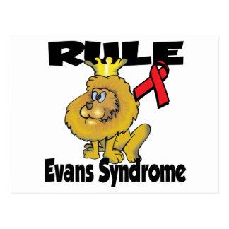 Rule Evans Syndrome Postcard