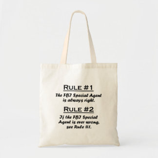 Rule FBI Special Agent Bags