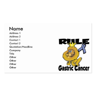 Rule Gastric Cancer Pack Of Standard Business Cards