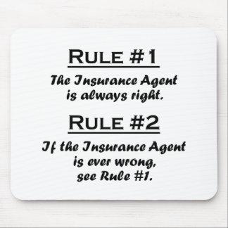 Rule Insurance Agent Mouse Mat