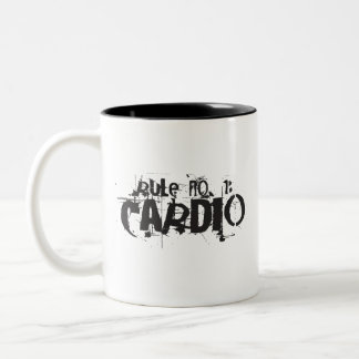 Rule No 1: Cardio Mug