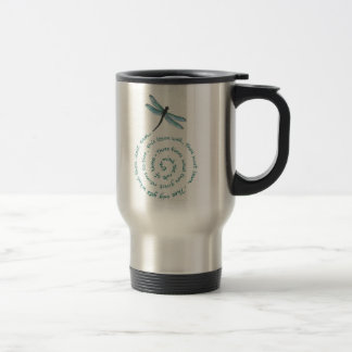 Rule of 3 - Witch's law -Wiccan Rede Stainless Steel Travel Mug
