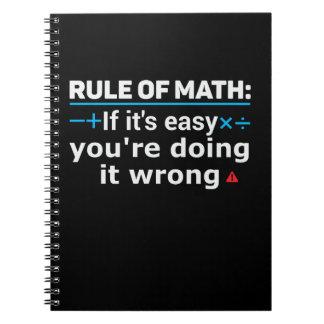 Rule of Math Pun Notebook