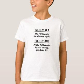 Rule PE Teacher Tshirt
