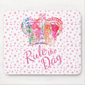 Rule the Day Crown Mousepad