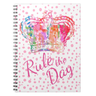 Rule the Day Crown Notebook