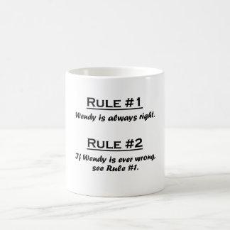 Rule Wendy Coffee Mug