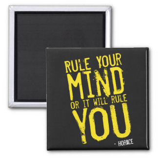 Rule Your Mind - self-discipline Quote Magnet