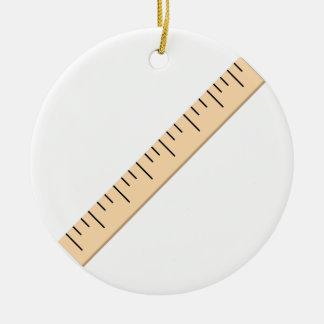 Ruler Christmas Ornament