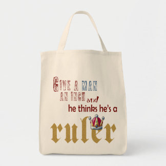 Ruler - Grocery Tote Bag