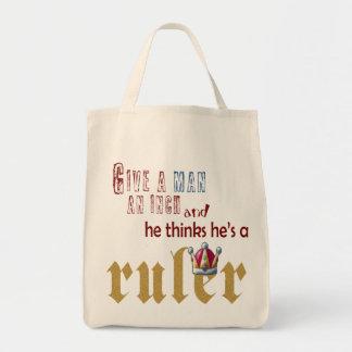Ruler - Grocery Tote Bag