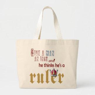 Ruler - Jumbo Tote Jumbo Tote Bag