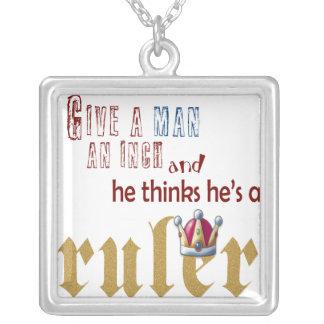 Ruler - Necklace