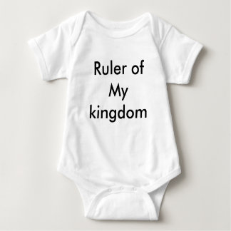 Ruler of my kingdom baby bodysuit