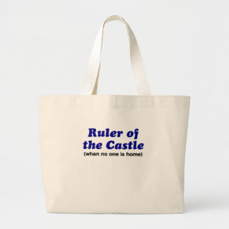 Ruler of the Castle When No One is Home Canvas Bag