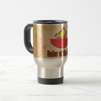 Ruler of the Grill Travel Mug