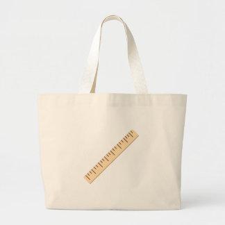 Ruler Jumbo Tote Bag
