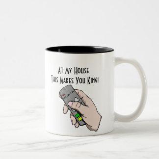 Ruler Two-Tone Mug