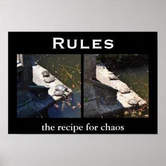 Rules - Demotivational Motivational Poster