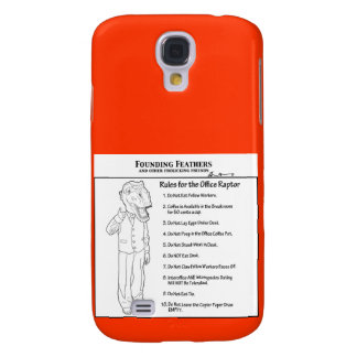 Rules for the Office Raptor Galaxy S4 Case