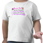 Rules of a Flower Girl Toddler Shirt