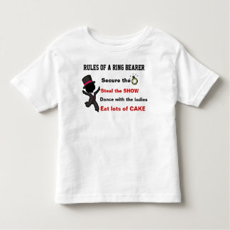 Rules of a Ring Bearer T-Shirt