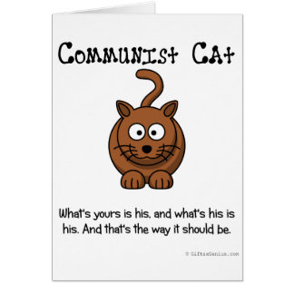 Rules of Communism Greeting Card